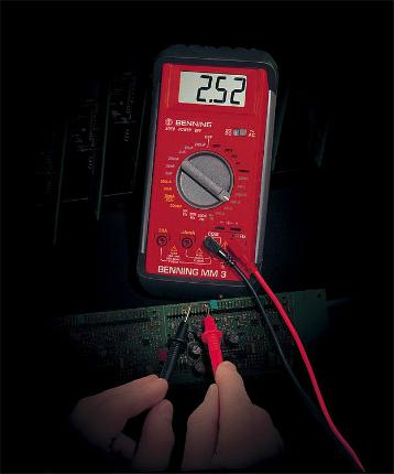BENNING Digital-Multimeter MM3