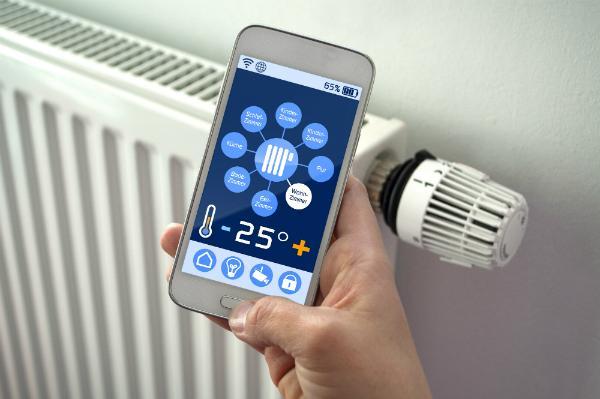 Heizungssteuerung über das Smart Phone