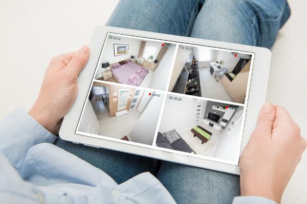Haben Sie mit Kameras alles über das Tablet oder Smart Phone im Blick