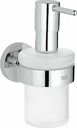 GROHE SEIFENSPENDER 'ESSENTIALS' WANDMODELL CHROM