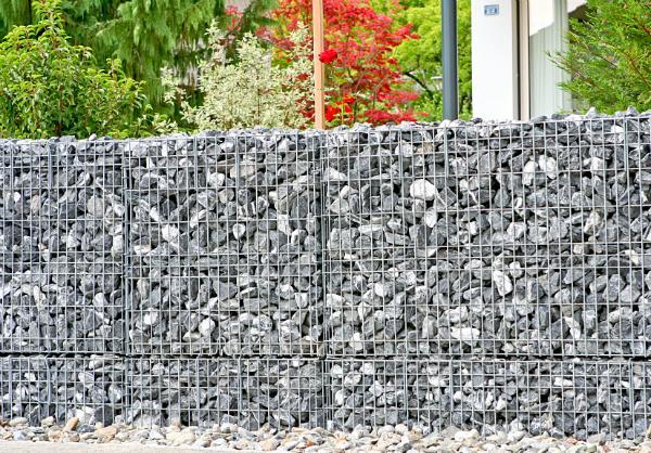 Gabionenmauern - Die moderne Variante