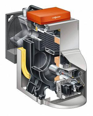 VIESSMANN VITORONDENS 200-T ÖL-BRENNWERTKESSEL Funktionsweise