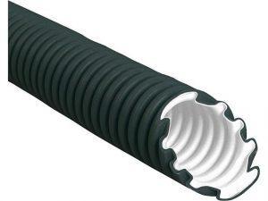 Kunststoffwellrohr NW32 easy 320N, schwarz, Rolle a 50m
