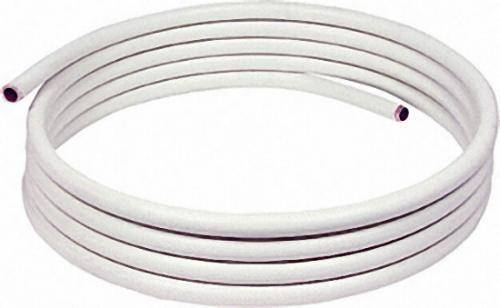 KUNSTSTOFFUMMANTELTES KUPFERROHR IN RINGEN A 25 M, 18 X 1,0MM DIN-EN 1057