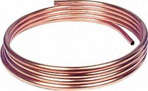 KUPFER-INSTALLATIONSROHR WEICH IN RINGEN A 25 M, 18 X 1,0MM RAL/DVGW, DIN-EN 1057