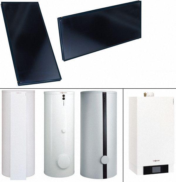 VIESSMANN-Solarpakete-Vitosol-200-FM-Vitodens-300-W-11-kW-o.-Mischer-Vitocell-100-WB