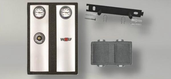 WOLF 2070431Z01 PAKET EINSPRITZSCHALTUNG, VERROHRUNGSGRUPPE