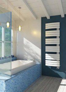 Design-Handtuch-Heizkörper Sail, Weiß