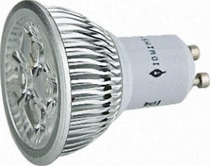 LED-Leuchtmittel-GU10-4-8W-4x1W-fuer-warmweiss-450-AC100-250V-nicht-Dimmbar