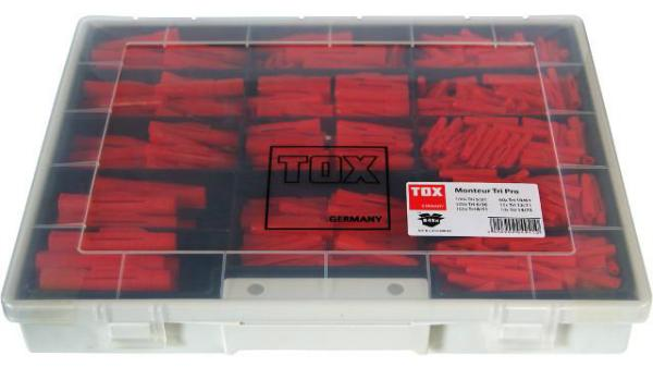 TOX 1090001 STANDARDSORTIMENT TRI PRO MONTEUR 845 TLG.