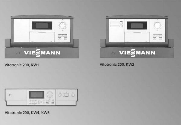 VIESSMANN-Z009482-Vitotronic-200-Typ-KW5-digit-Regelung-mit-Montageblech-fuer-Vitogas