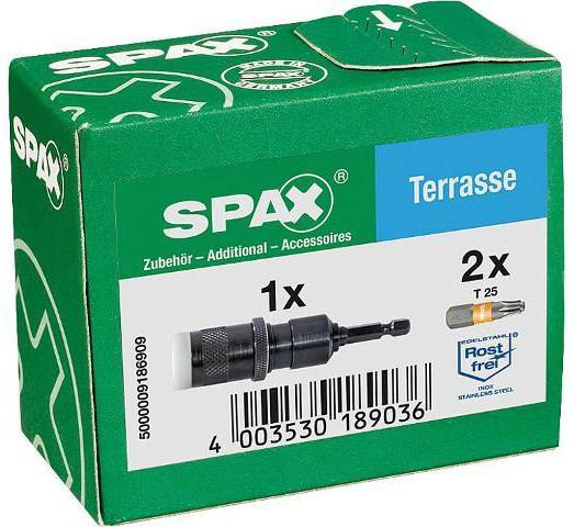 BIT SPAX® T25 MIT VARIABLEM TIEFENBEGRENZER