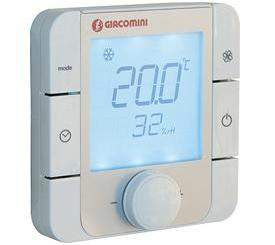 Giacomini-K492BY002-Thermostat-mit-beleuchtetem-Display-230-V