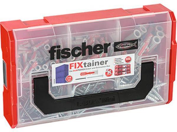FISCHER 535969 FIXTAINER DUOPOWER-DÜBEL PLUS SCHRAUBE