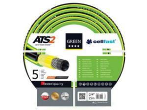CELLFAST-15-120-GARTENSCHLAUCH-GREEN-ATS2-3-4-25-m