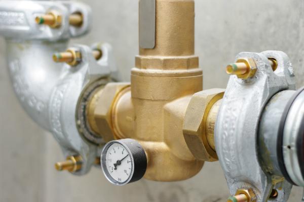 Der Wasserdruck sollte stehts beachtet werden