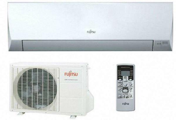 FUJITSU-Klimaanlage-Wandmodell-Set
