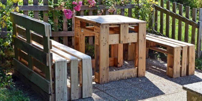 Gemeinsame Gartenmöbel aus Europaletten bauen - MeinHausShop Magazin #KK_92