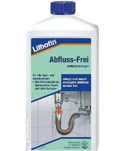 LITHOFIN-Abfluss-Frei-Abflussreiniger
