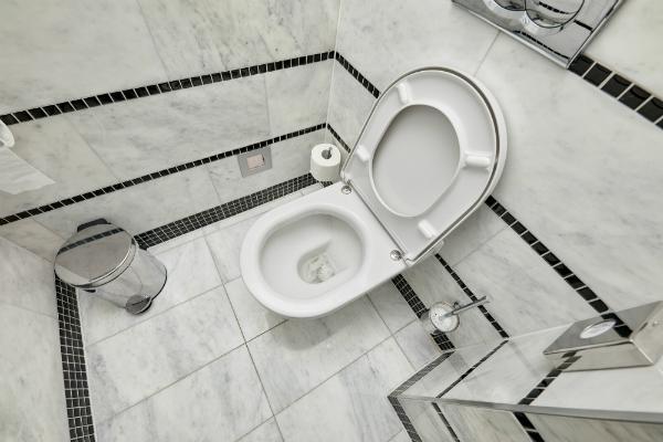 Platzsparendes Gäste Badezimmer