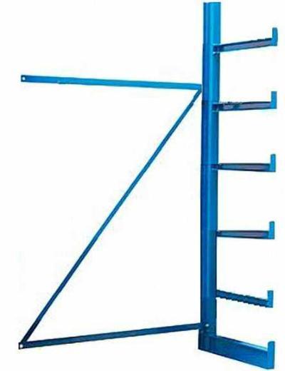 Kragarm-Anbauregal-einseitig-mit-6-Ebenen