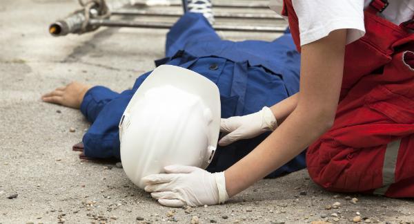 Unfälle auf Baustellen sind keine Seltenheit