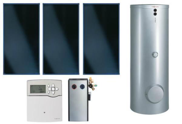 VIESSMANN SK05730 PAKET VITOSOL 200-FM SV2F, 6,9M², TW SD1, VITOCELL 100-B 500 L, CVB