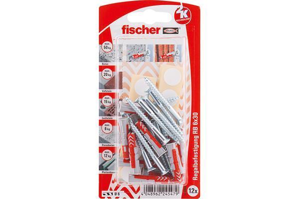 Fischer-Montage-Sets-DUOPOWER-fuer-Regalbefestigung