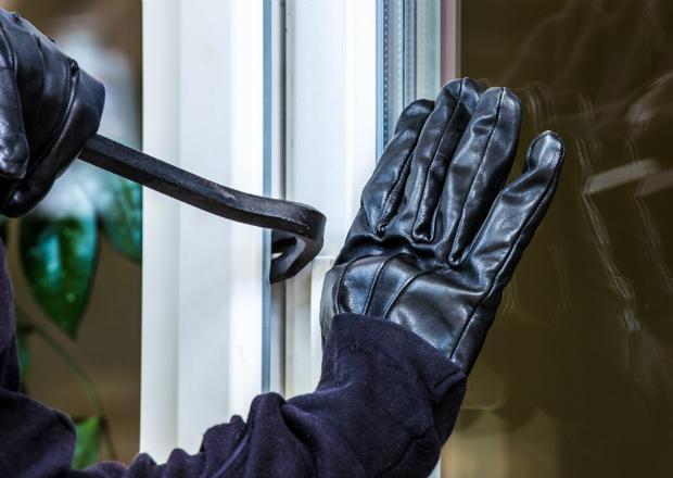 Ungeschützte Fenster können leicht aufgehebelt werden