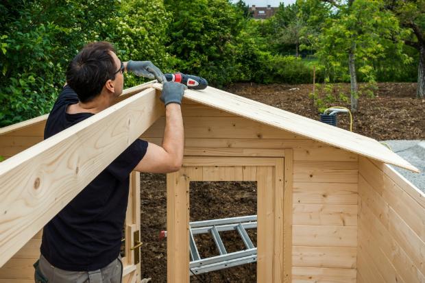 Viel Erfolg beim Bau des eigenen Gartenhäuschens