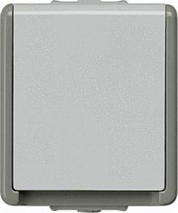 AUFPUTZ-SCHUKO-STECKDOSE 75MM X 66MM X 54MM 1FACH/ SCHUTZART IP44 / 1 STÜCK