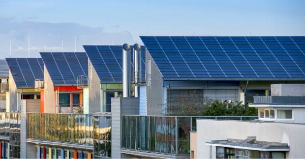 Energieeffiziente Häuser mit Solarheizungen