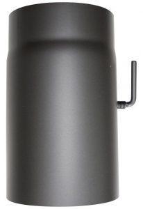 ORANIER-Rauchrohr-mit-Drosselklappe-L-250mm