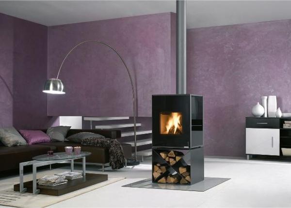 Buderus-7736660086-Kaminofen-Hot-Box-2000-7-kW-Stahl-metallic-Glas-nouga-X-Konsole-rlu