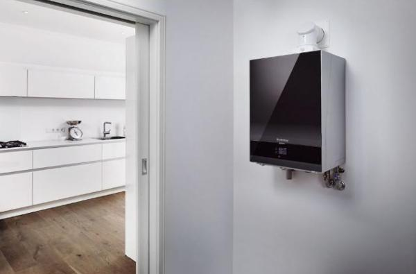 Buderus Gas-Brennwert-Wandgeraet Logamax plus GB192i-25 schwarz