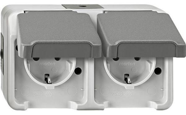 Schuko-Doppelsteckdose-Aquastar-Merten-IP44-AP-lichtgrau-Beruehrungsschutz-1-Stueck
