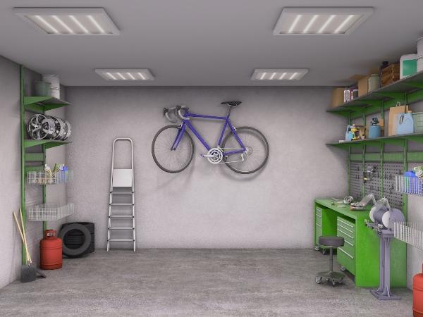 In der Garage garage-einrichten