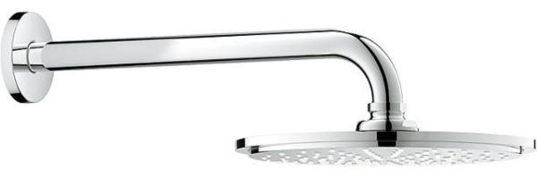 Kopfbrausenset-Grohe-Rainshower-Cosmopolitan-210-mm-Wandarm-286-mm-verchromt