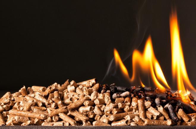 Brennende Pelles
