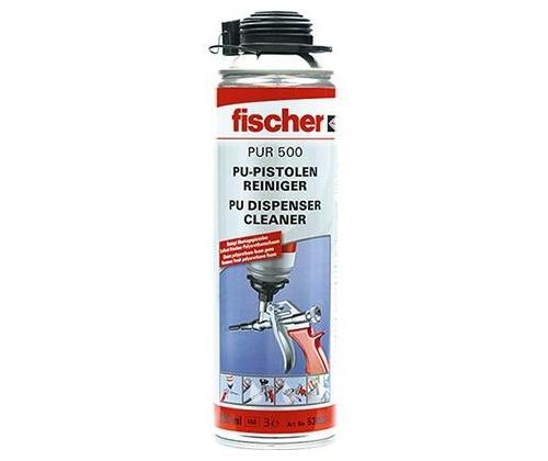 Fischer-PU-Pistolenreiniger-PUR-500-Bauschaum-Reiniger-pu-Bauschaum-entfernen-53085-VPE-1-Stueck