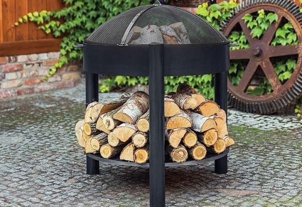 Funkenschutzhaube für Feuerschale