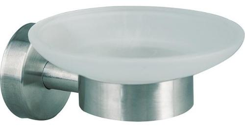 Seifenschale-AXIAL-Glas-satiniert-Edelstahl-matt-inkl.-Befestig