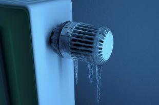 Eingefrorener Thermostat - Frostwächter mit Thermostat hilft