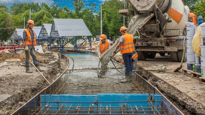 Beton im Straßenbau
