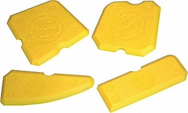 Fugenstar Fugenglättersatz Fugenglätter 4tlg. glätten & formen von Silikon + Acryl Made in Germany