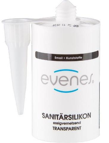 Silikon Evenes 80ml transparent
