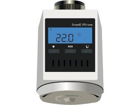 Blossom-ic-IO-3552-Heizkoerperregler-SmartE-IRV-one-Weiss-Batterieversion-AA-1-5V Clever heizen