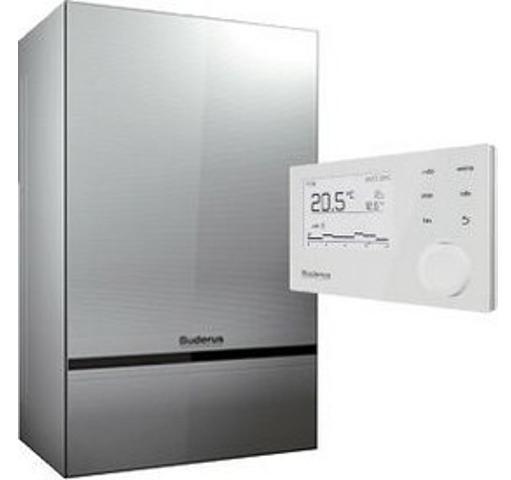 Buderus Logamax - Wohnungsstation für die zentrale Wärmeversorgung und Warmwasserbereitung
