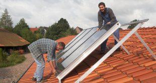 Solaranlage einbauen - Förderung für die Heizungsanlage