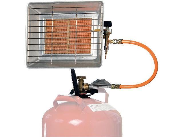 Heizstrahler regelbar Infrastar 2-4,3 kW